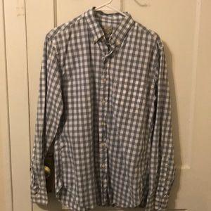 JCrew Mens Woven Shirt. Size Medium. Never worn.